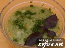 """Супчик """"Просто Баварский"""" с брокколи и копчеными колбасками (сосиками)"""