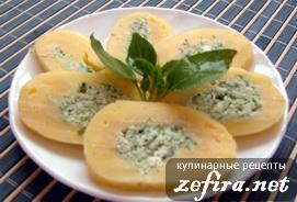 Сырный рулет с зеленью – оригинальный рецепт вкусной закуски
