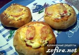 """Рецепт мини-пиццы """"Импровизация"""""""