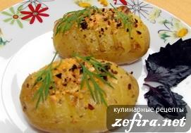Картофельная гармошка из молодого картофеля