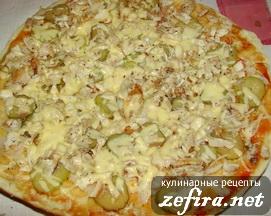 Пицца в приготовленном виде