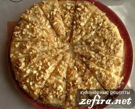 """Рецепт вкусного торта из заварного теста """"Лидия"""""""