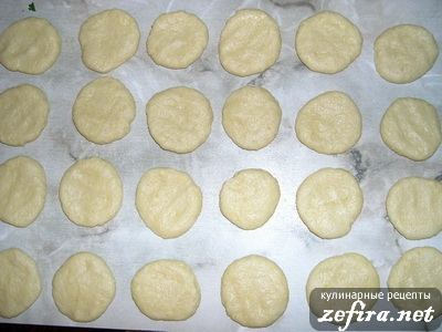 Печенье с финиками - делаем лепешки