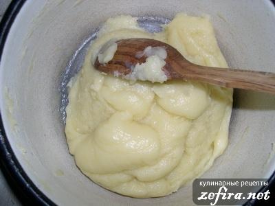 Приготовление заварных булочек 2-ой этап