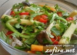 Салат из осенних овощей