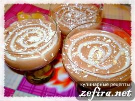 "Рецепт десерта ""Шоколадный бархат"""