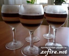 Желе Кофейно-молочное
