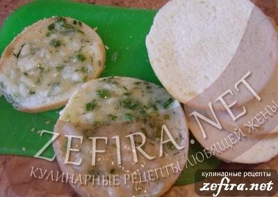 """Необычные горячие бутерброды """"Пикничок"""" - 4 этап"""