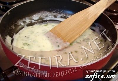"""Семга (форель) со сливочным соусом """"По-царски"""" - 6-ой этап"""