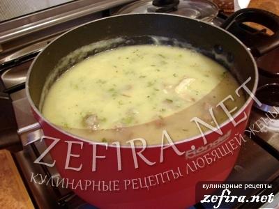 Вкусный картофельный суп-пюре с цветной капустой и говядиной - 7 этап