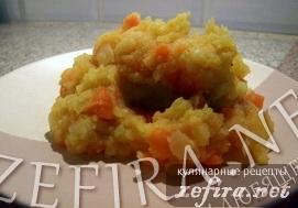 Морковное пюре по-брюссельски
