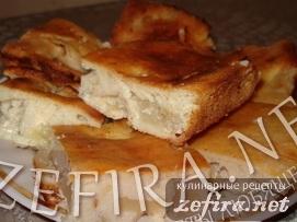 Пирог  яблочный  без муки