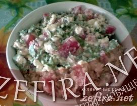 Салат-закуска из творога