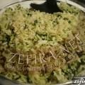"""""""Зеленый"""" рис или рецепт риса со шпинатом"""
