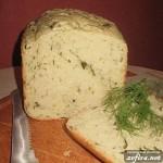 Рецепт хлеба с зеленью и зеленым луком