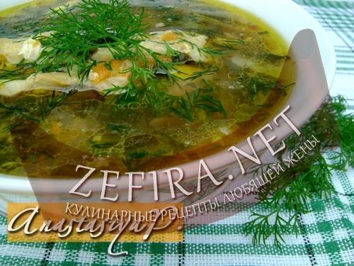 """Суп со щавелем """"Зелёный"""""""