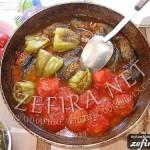 Азербайджанское блюдо – овощи, начинённые мясом