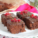 Шоколадный пирог с цуккини «Три шоколада»