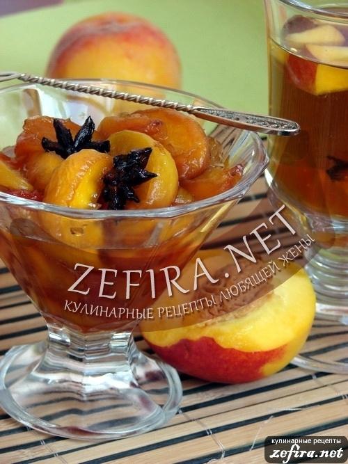 Изысканный рецепт персикового варенья с перцем и анисом