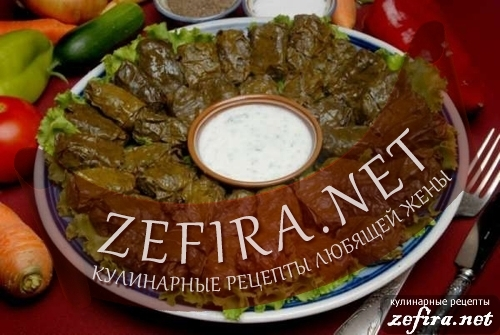 Рецепт вкусной азербайджанской долмы