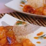 Рецепт китайской кухни – курица с ананасом в кисло-сладком соусе