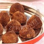 Шоколадные трюфели — рецепт приготовления из детского питания