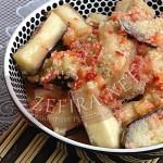Рецепт острых баклажанов