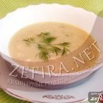 Крем-суп картофельный с рыбой
