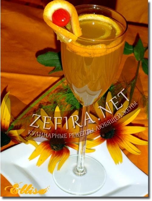 """Рецепт напитка  """"Шипучий апельсин """" на.  Ни один праздник не обходится без..."""