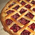 Пирог с клюквой или брусникой по-архангельски