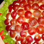 Салат из курицы с виноградом «Тиффани»