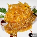 Салат с тыквой и яблоками «Чувашский Шаман»