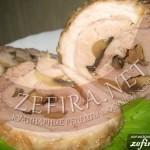 Свиной рулет с грибами