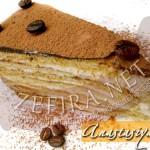 Торт «Кофейный аромат» с заварным кремом из белого шоколада