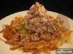 """Закуска """"Мужицкая"""" на подушке из картофеля"""