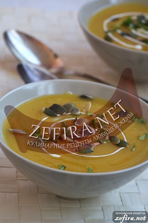 Картофельно-тыквенный крем-суп