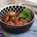 Куриное филе в глазури с луком