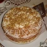 Торт «Медовик» с зефиром