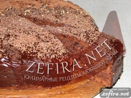Рецепт торта пражский на конкурс от