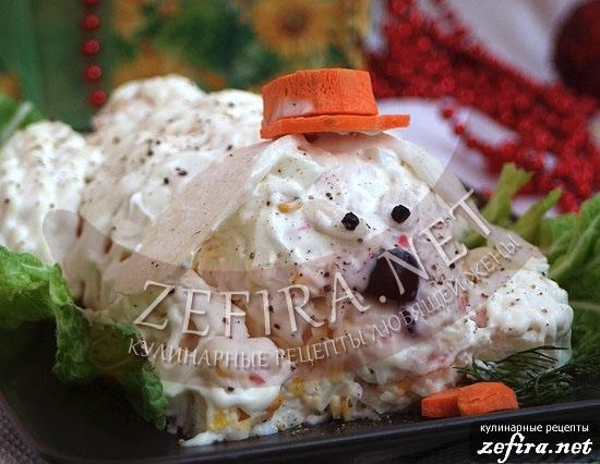 Салат на год кролика с фото