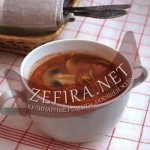 Рецепт польского супа с шампиньонами