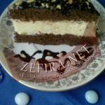 Торт с шоколадными коржами и творогом «Вдохновение»