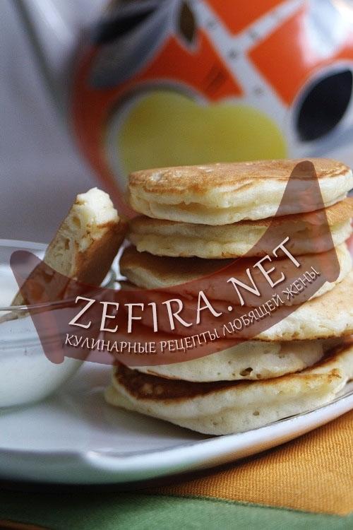 Pancakes или Панкейки - американские толстые блины (оладьи) на молоке