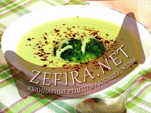 Рецепт крем-супа с брокколи