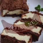 """Шоколадный пирог с творогом """"Улыбка негра"""""""