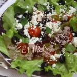 Греческая закуска с творогом