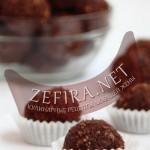 Шоколадные шарики — рецепт простого десерта без выпечки