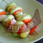 Овощи на гриле – рецепт овощного шашлыка