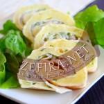 Рулет из лаваша — рецепт с начинкой из картофеля и селедки