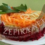 Салат овощной «Щетка»